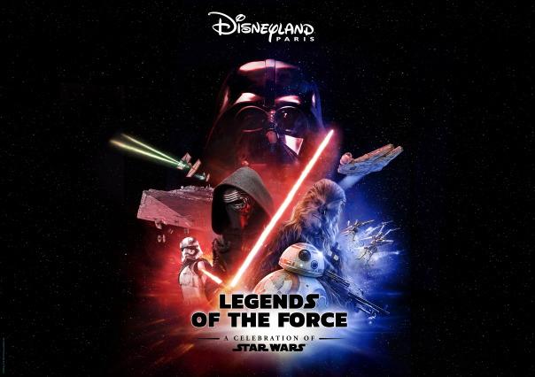 Disneyland Legend of the force
